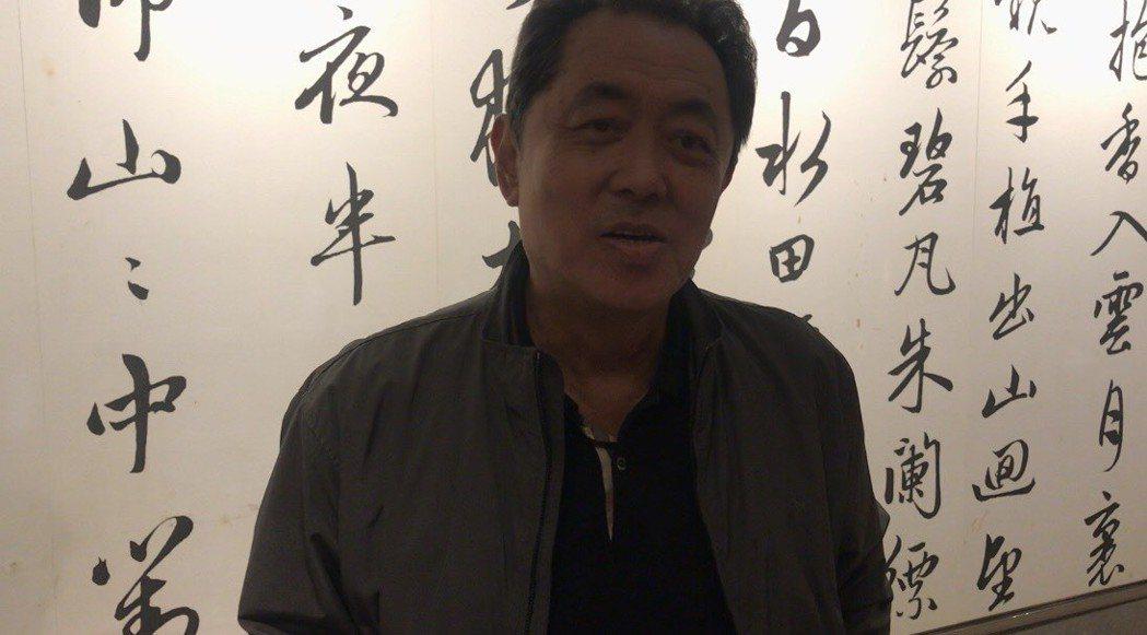 朱延平。記者梅衍儂/攝影