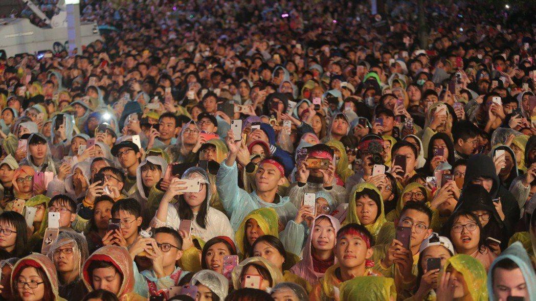 台北最High新年城2019跨年晚會。跨年晚會示意圖。 圖/報系資料照