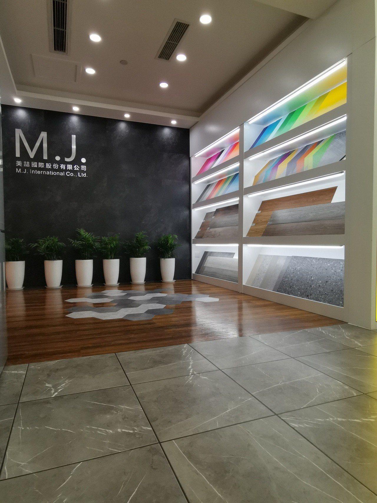 國際石塑地板製造業者美喆國際(8466)3月1日在中國成都成立新營業據點,就近滿...