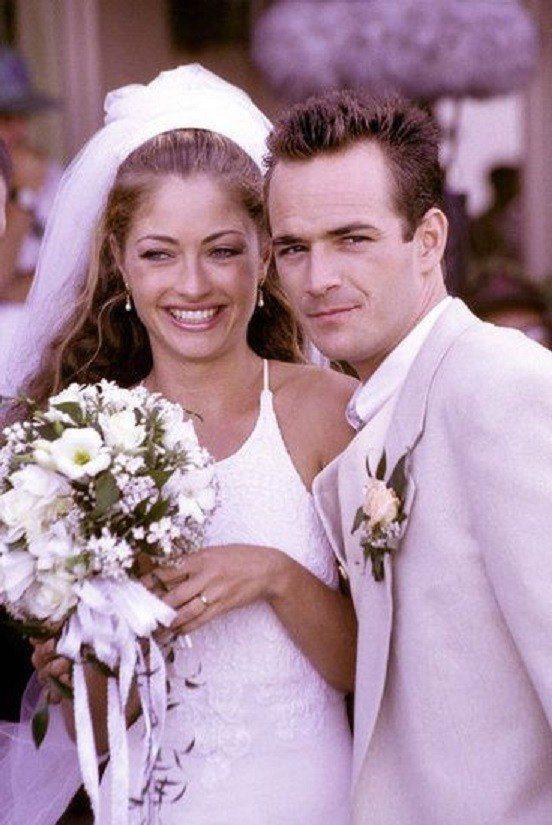 路克派瑞曾在「飛越比佛利」中結婚,可惜最後仍悲劇收場。圖/摘自imdb