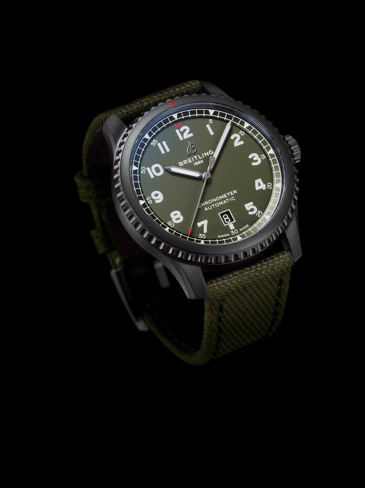 百年靈Aviator 8 Automatic 41寇帝斯戰鷹自動航空腕表,13萬...