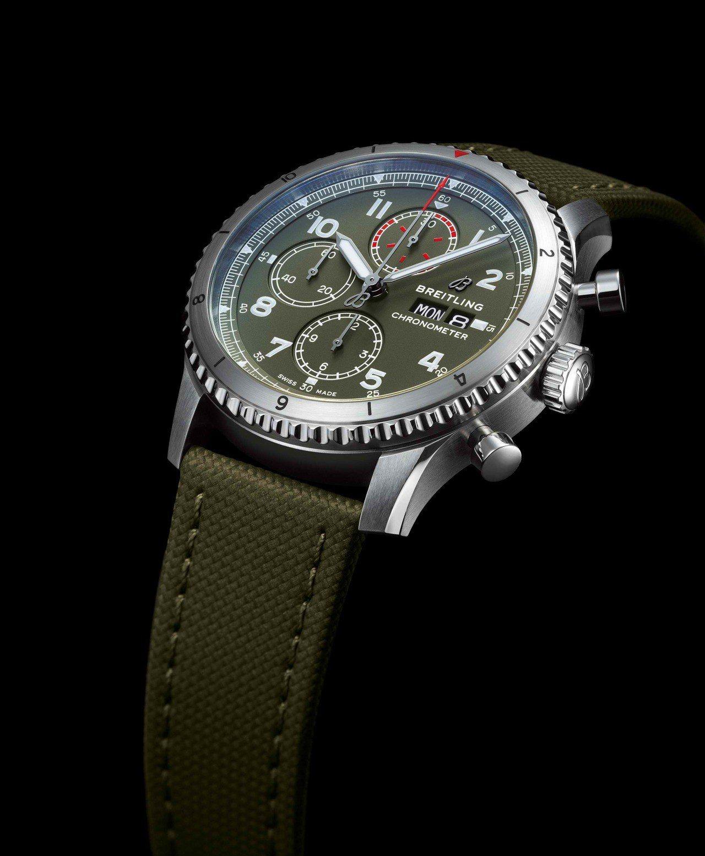 百年靈Aviator 8 Chronograph 43寇帝斯戰鷹航空計時腕表,1...