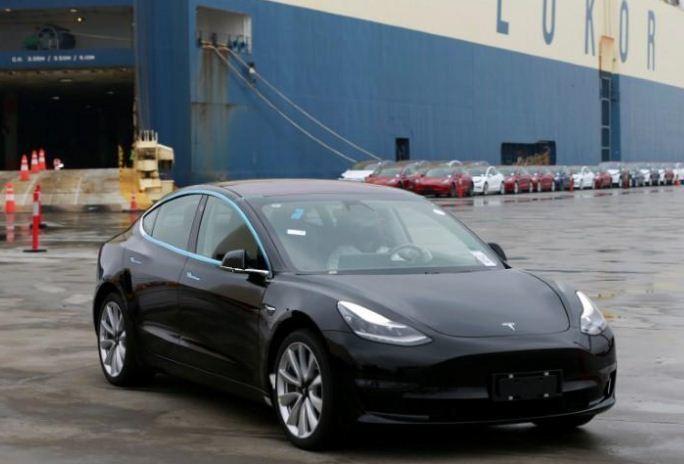 特斯拉平價電動車Model 3。 路透