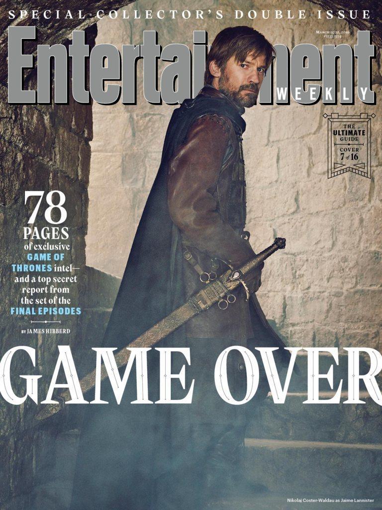 亦正亦邪的詹姆蘭尼斯特在「冰與火之歌:權力遊戲」最後結局不太樂觀。圖/摘自EW。...