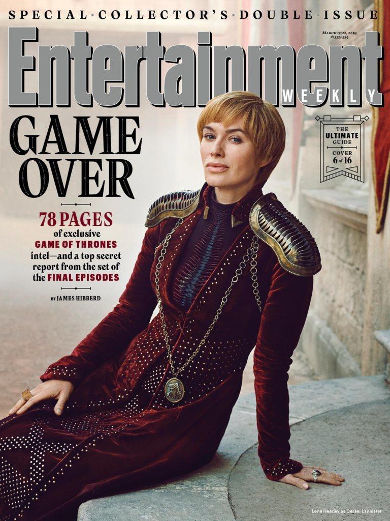 狡猾邪惡的瑟曦也是最新娛樂周刊主打封面之一。圖/摘自EW
