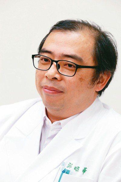 北榮胸腔腫瘤科主任邱昭華。 記者邱德祥/攝影