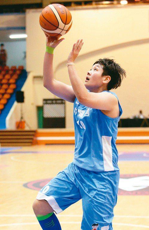 中華電信劉嘉瑋得到全場最高的十五分。 記者余承翰/攝影
