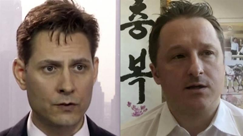 相較於加拿大人康明凱(左)與斯帕弗(右)被中國逮捕後的處境,加國民眾覺得孟晚舟過...