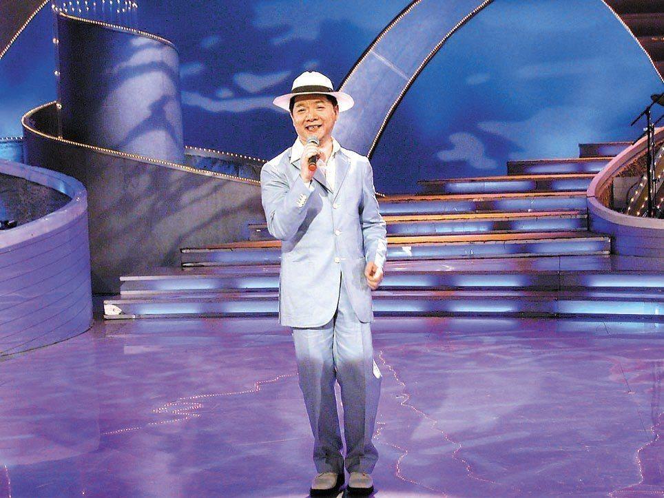 葉啟田的「愛拚才會贏」在大陸傳唱度極高。 圖/聯合報系資料照片