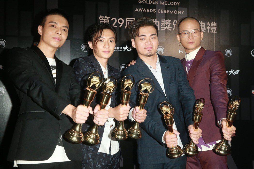 茄子蛋曾獲金曲「最佳新人」與「最佳台語專輯獎」。 圖/聯合報系資料照片