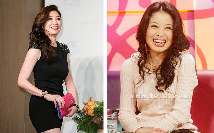藝人賈靜雯(左)不滿名嘴呂文婉(右)在節目上的發言侵害她名譽,提告求償、要求道歉...