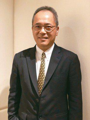 崇越電董事長潘振成 記者簡永祥/攝影