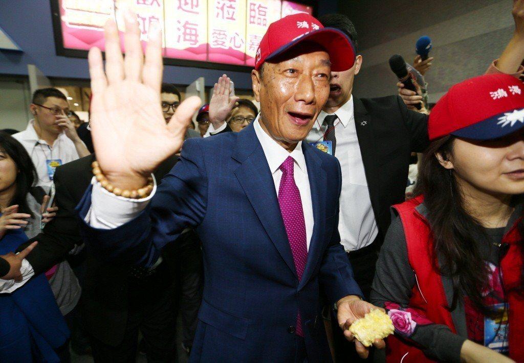 鴻海總裁郭台銘。記者杜建重/攝影