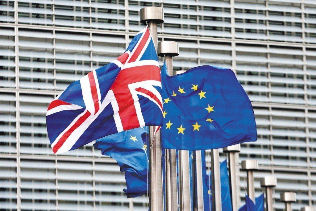 3月29日英國脫離歐洲聯盟的大限即將到。 路透
