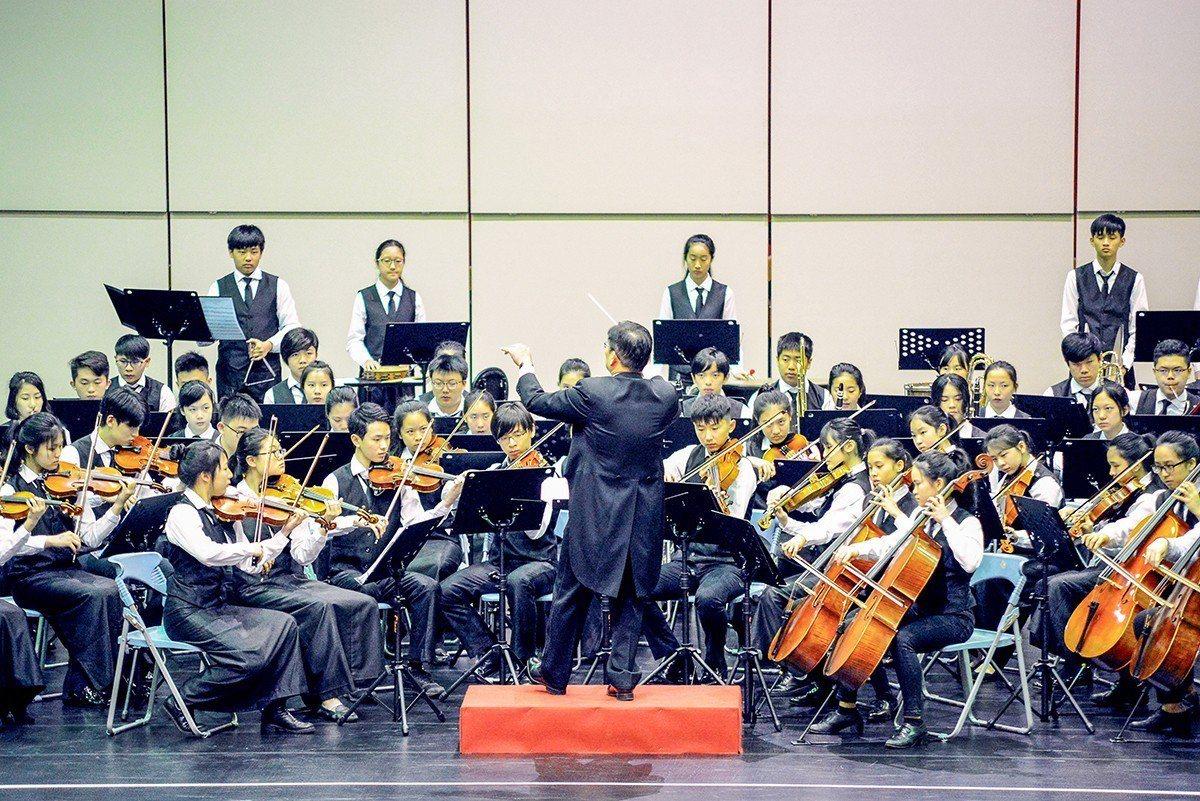 今年是康橋管弦樂團成立九年以來的第七次奪冠,成績斐然。 圖/康橋 提供