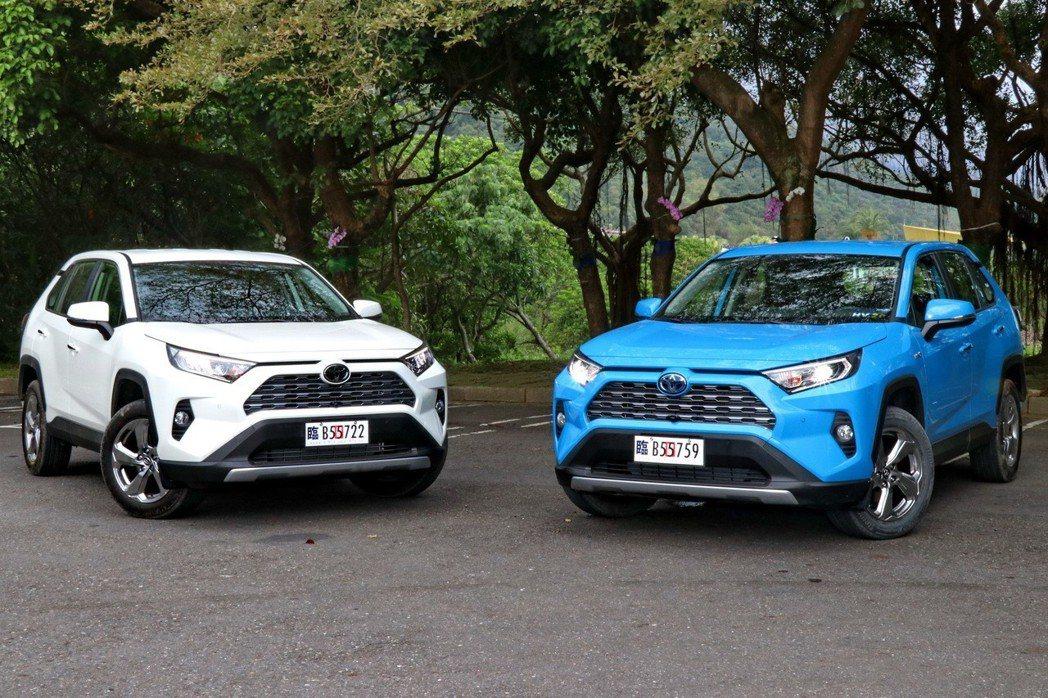 第五代Toyota RAV4上市首月就繳出將近三千輛的驚人銷售表現。 記者陳威任...