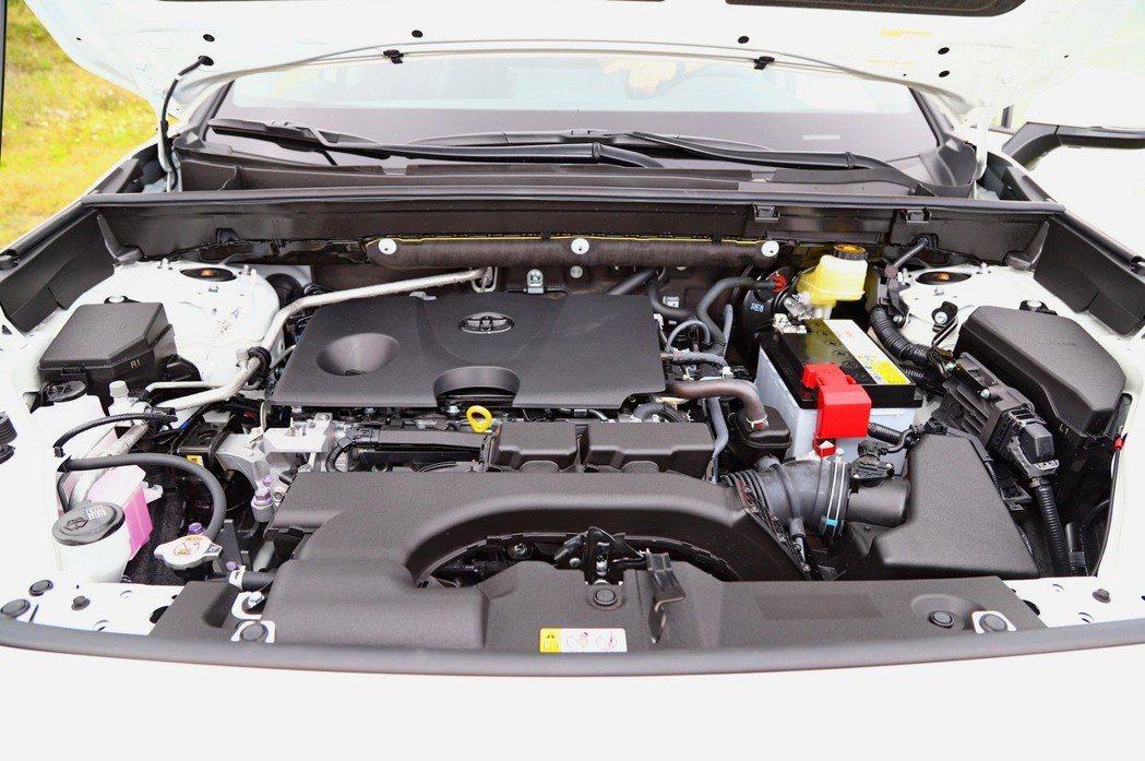 2.0L Dynamic Force汽油引擎。 記者張振群/攝影