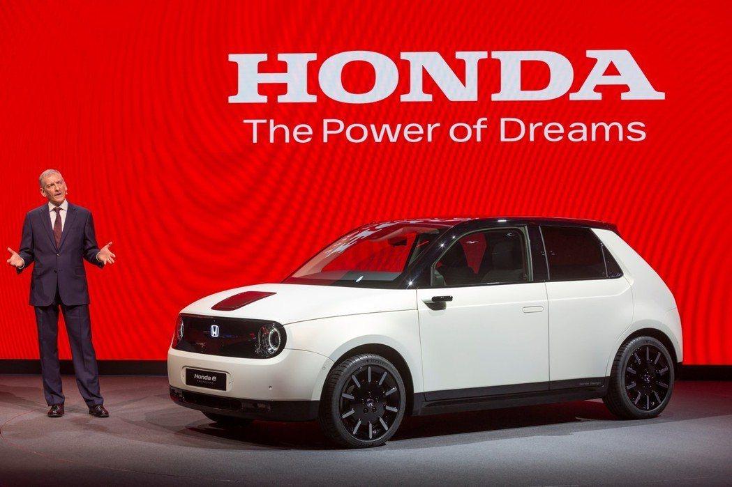 預覽未來量產化的Honda e Prototype。 摘自Honda