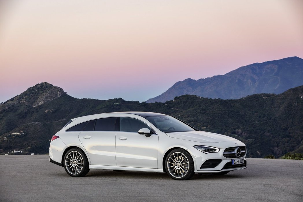 Mercedes於日內瓦車展就正式發表第二代CLA Shooting Brake...