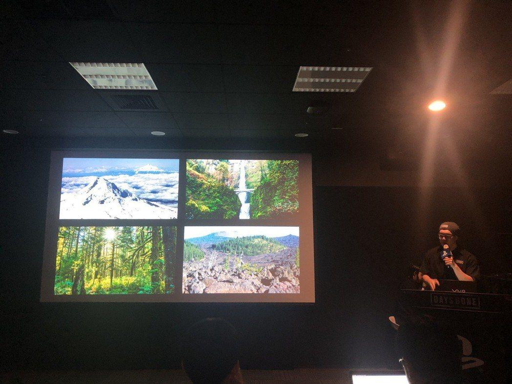 遊戲中可以探索到奧勒岡的各種天氣與地貌