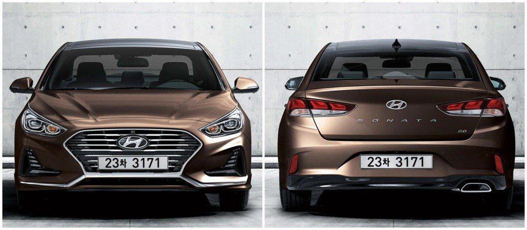 圖為第七代小改款車型的Hyundai Sonata。 摘自Hyundai