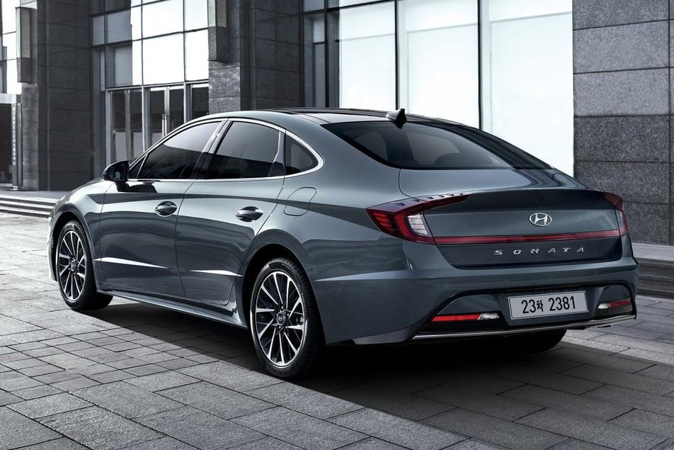 大改款Hyudnai Sonata 第八代車型搶先曝光