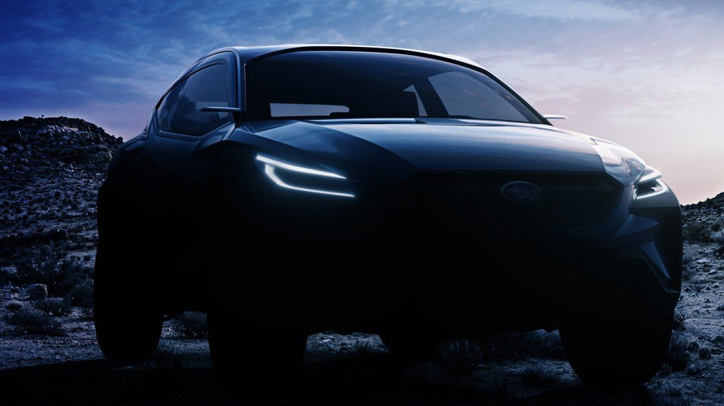 Subaru先前發布的概念車預告圖。 摘自Subaru