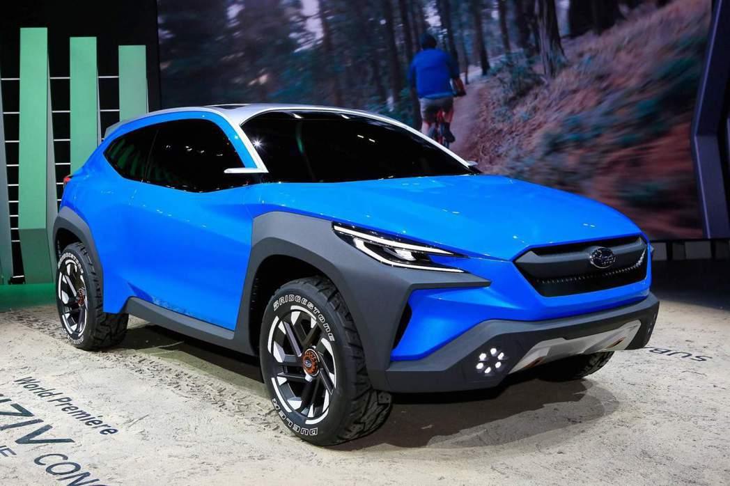 這是第一部採用全新「BOLDER」設計語彙的Subaru車款。 摘自carsco...
