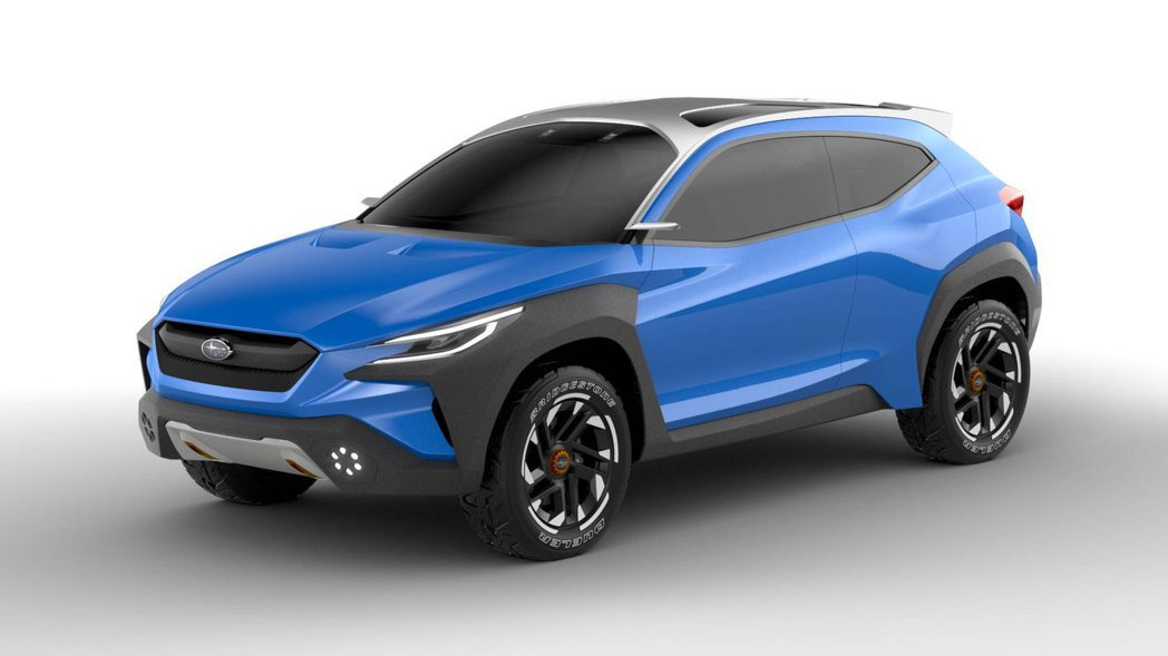 無車門把手,以及電子是後照鏡頭,讓概念車更前衛。 摘自Subaru