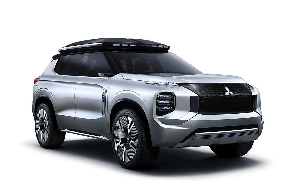 三菱Engelberg Tourer Concept概念車。 圖/Mitsubi...