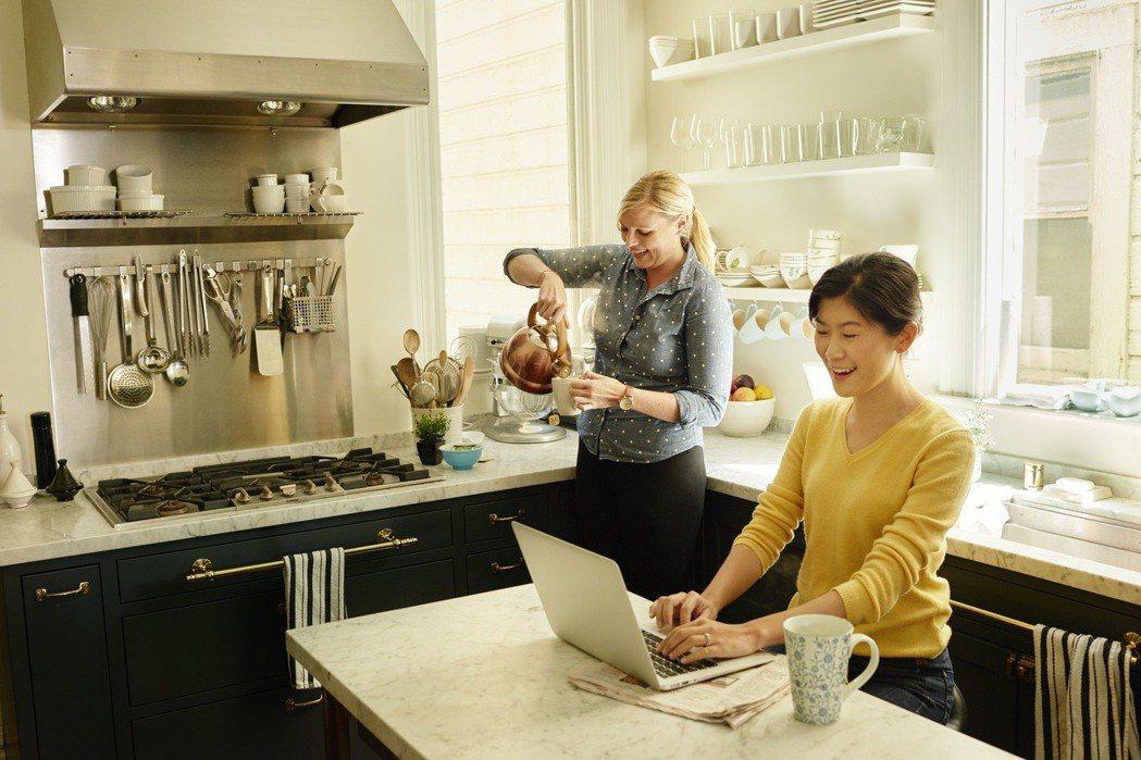 女力再現,Airbnb台灣女性房東去年賺進12億元。 Airbnb/提供