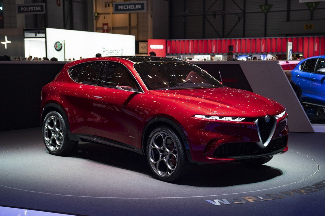 被原廠形容是輛如藝術品般的Alfa Romeo Tonale Concept (...