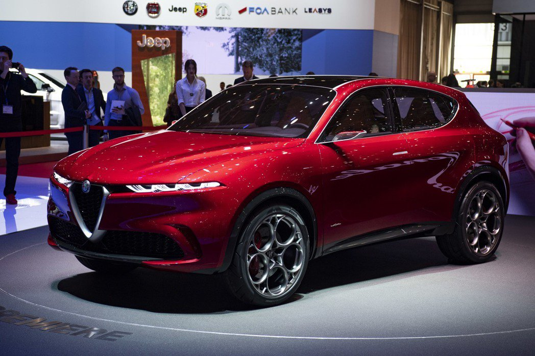 Alfa Romeo Tonale Concept預計將量產成為品牌第二款休旅。...