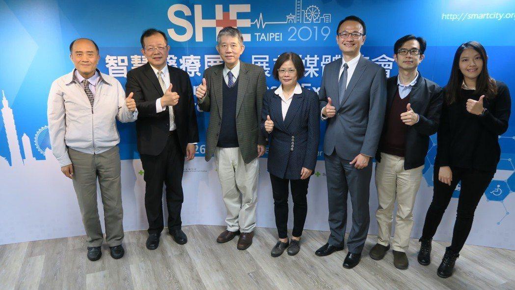 第二屆智慧醫療展展現台灣產業實力,今(6)日展前見面更有產、官、學代表力挺。 彭...