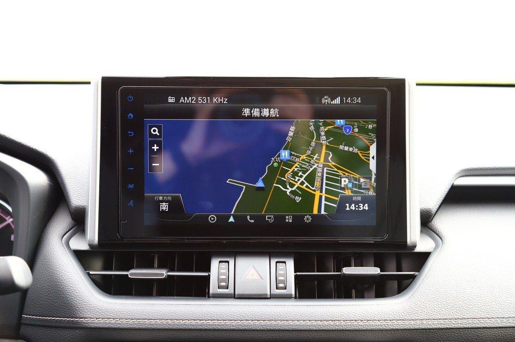 =「TOYOTA Drive+ Connect」智聯車載系統整合導航等功能。 記...