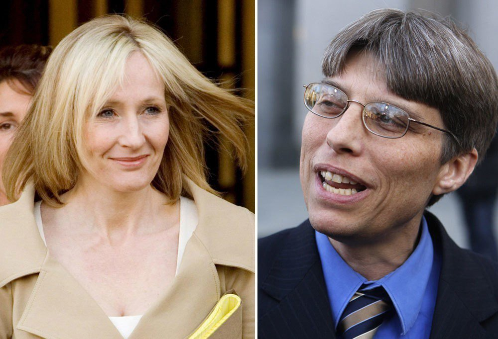 2008年美國聯邦地方法院判決Steven Vander Ark(右)所著的《哈...