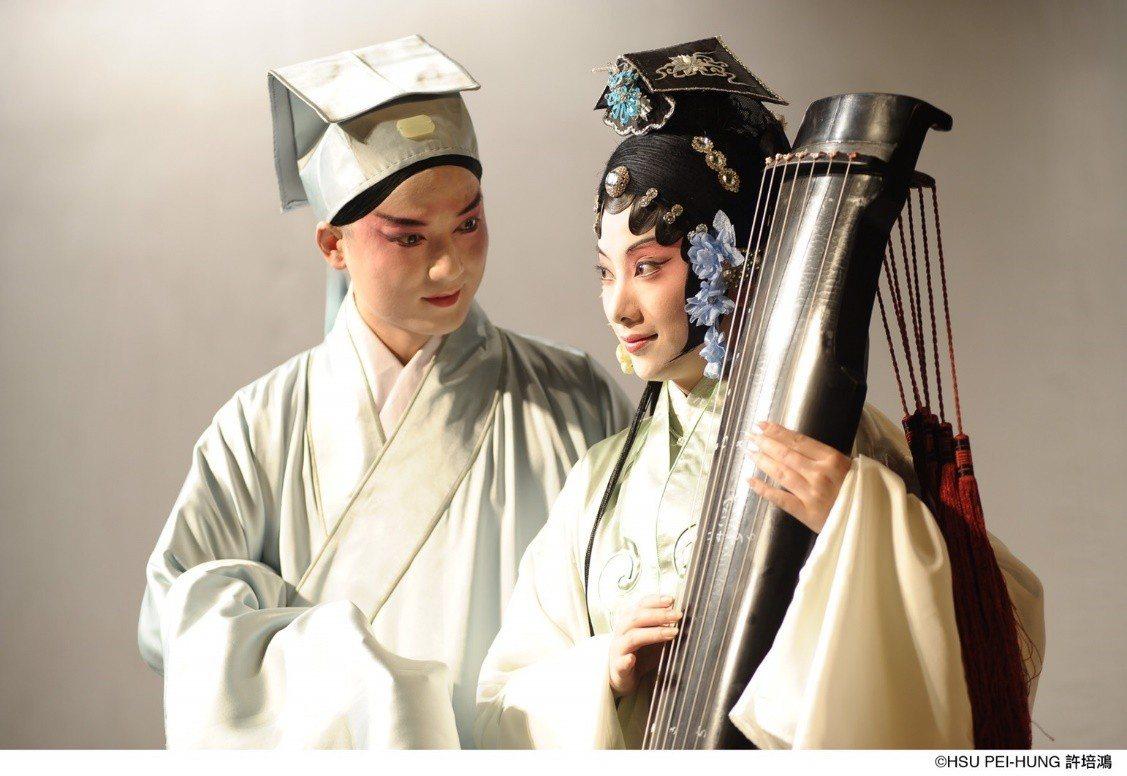 《玉簪記》重現青春版《牡丹亭》經典的生旦搭檔,俞玖林、沈豐英再度攜手 許培鴻攝影