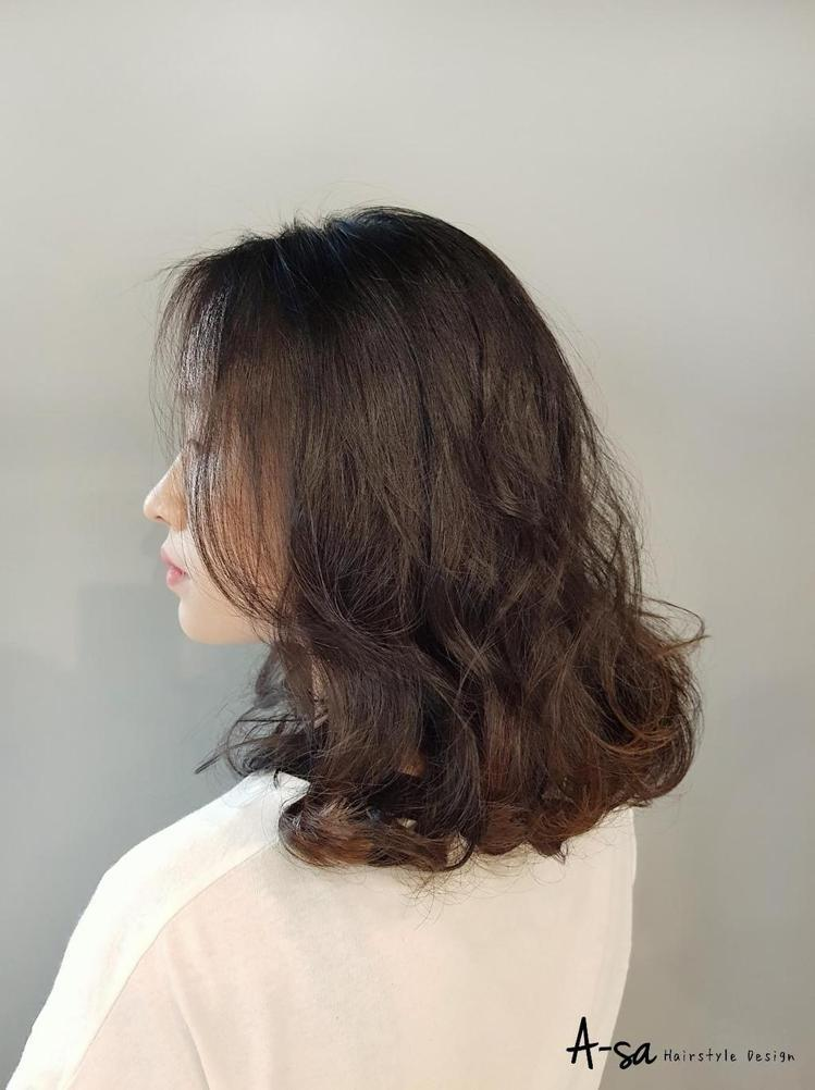 髮型創作/Daily Lab日常小室▪美髮部 / A-SA。圖/StyleMap...
