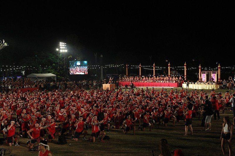 世界泰拳敬師節典禮。圖/泰國觀光局提供
