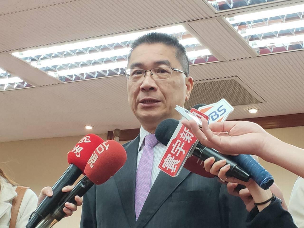 內政部長徐國勇。聯合報系資料照片