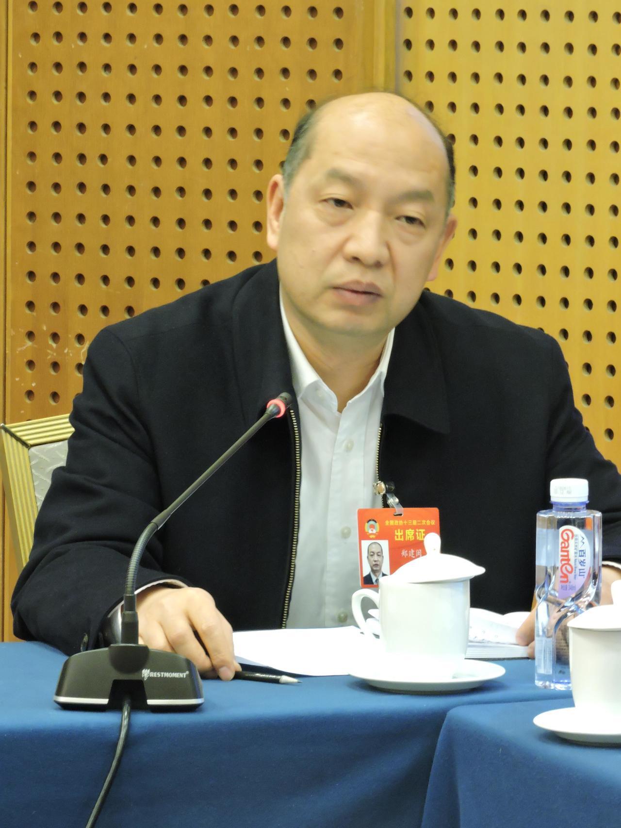 福建省副省長鄭建閩。記者戴瑞芬攝影