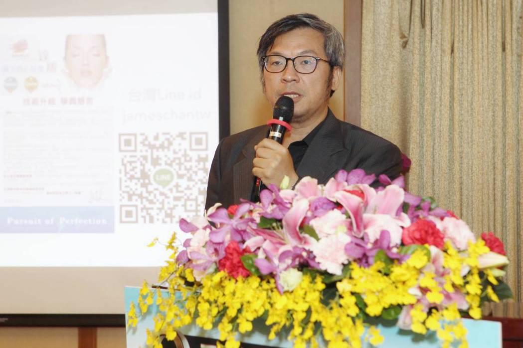 詹富盛醫師是台灣的線雕教父。圖/城市小姐選美協會提供