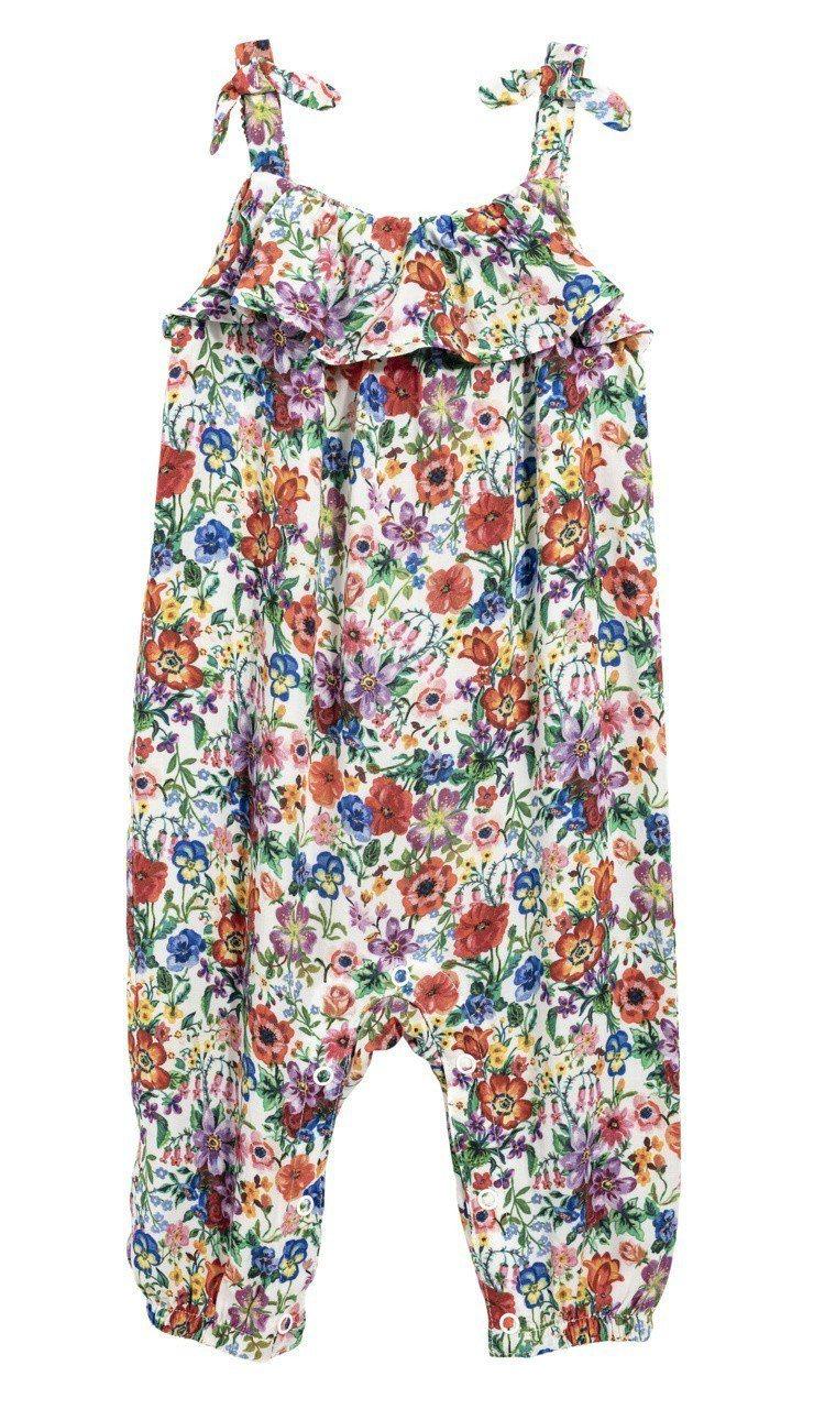 Nathalie Lété x H&M聯名系列嬰兒服,售價599元。圖/H&M提...