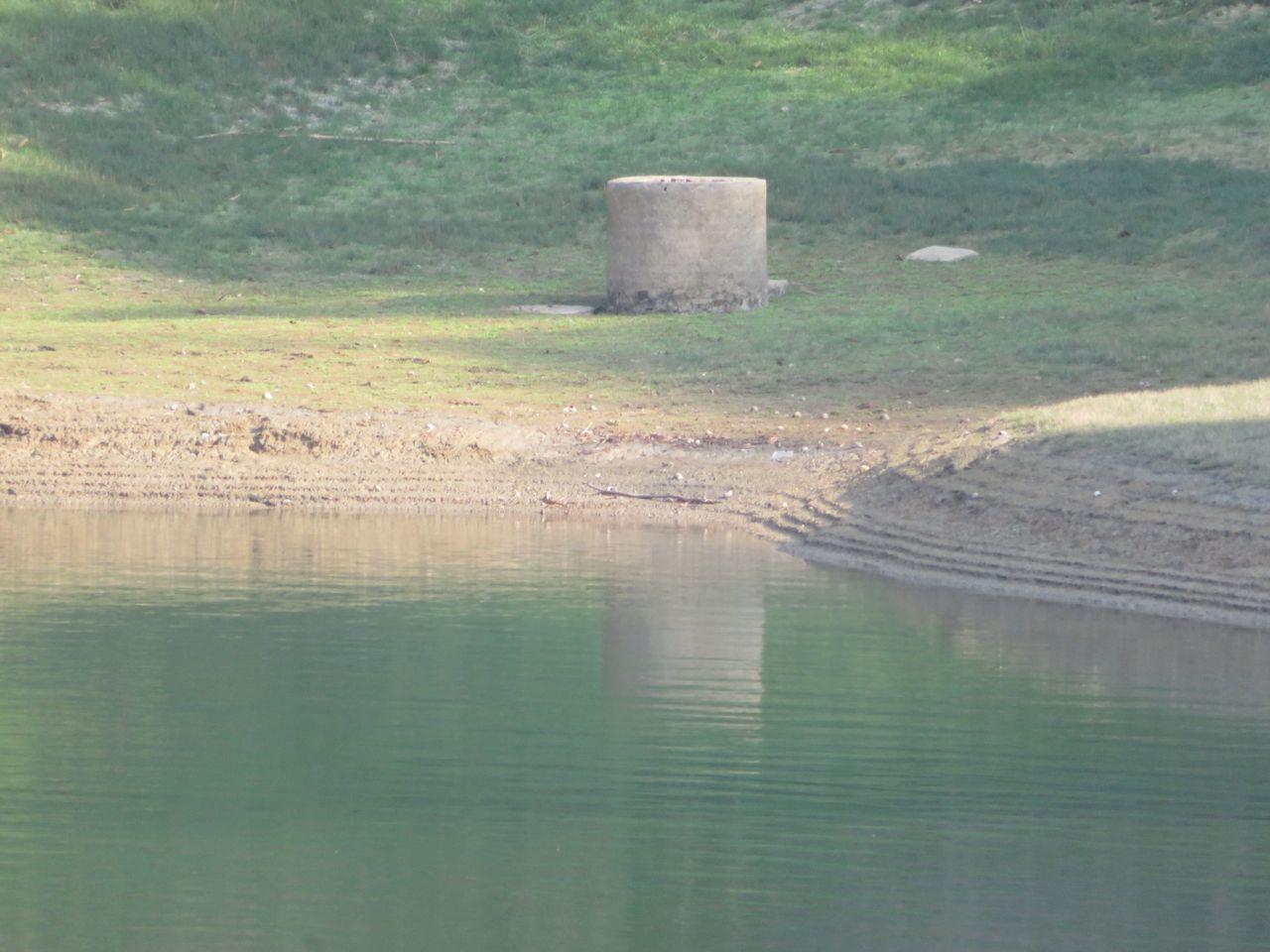 嘉義氣象站統計,從昨晚到今天凌晨降雨量只有9.5毫米, 雨量不如預期;蘭潭水庫蓄...