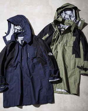 KAZUKI春夏系列以深藍、墨綠、米白作為主色襯出街頭建築感。圖/The Nor...