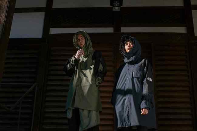 KAZUKI春夏系列重新演繹源自1990年的經典登山外套,並打造一系列男女裝。圖...