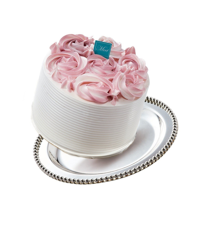 御見玫瑰藏心千層蛋糕,售價1,299元。圖/7-ELEVEN提供