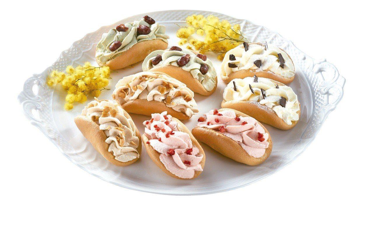 拉提莎歐姆蕾鮮奶油捲綜合組,為韓國釜山人氣甜點LE BREAD LAB鮮奶油歐姆...