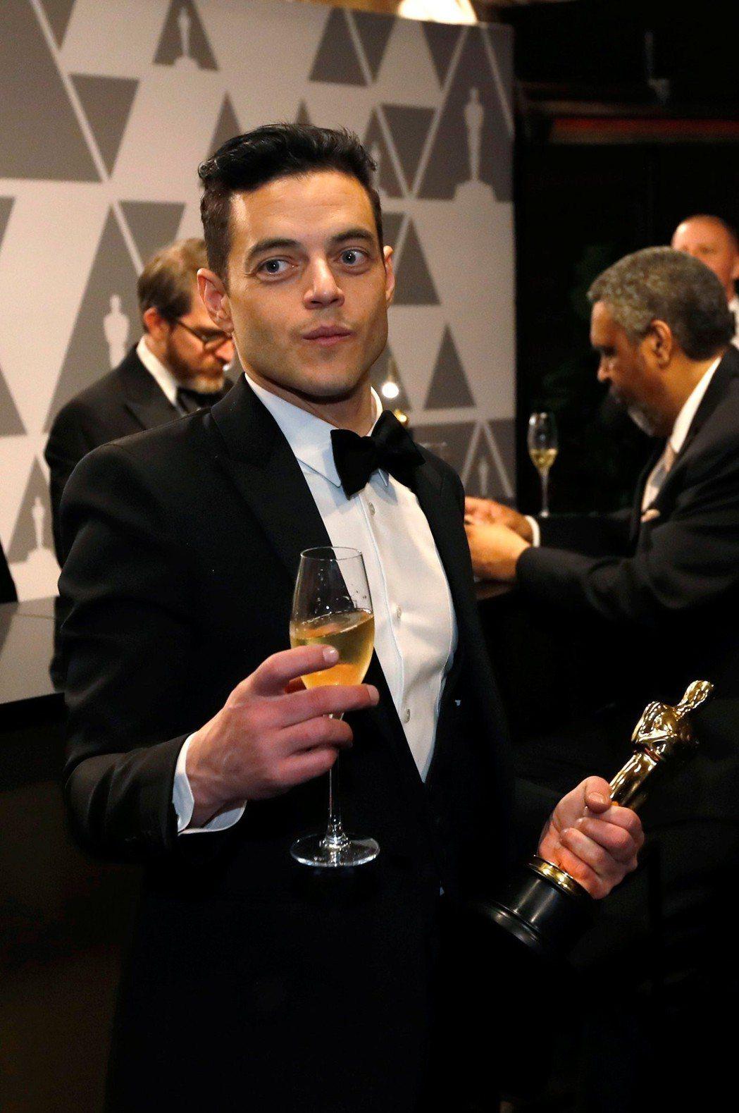雷米馬利克洽談在最新一集007影片扮演大反派。圖/路透資料照片