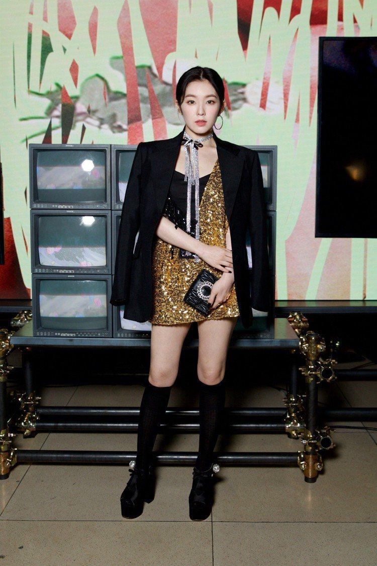 韓國女團Red Velvet團長Irene Bae(裴柱現)出席MIU MIU2...